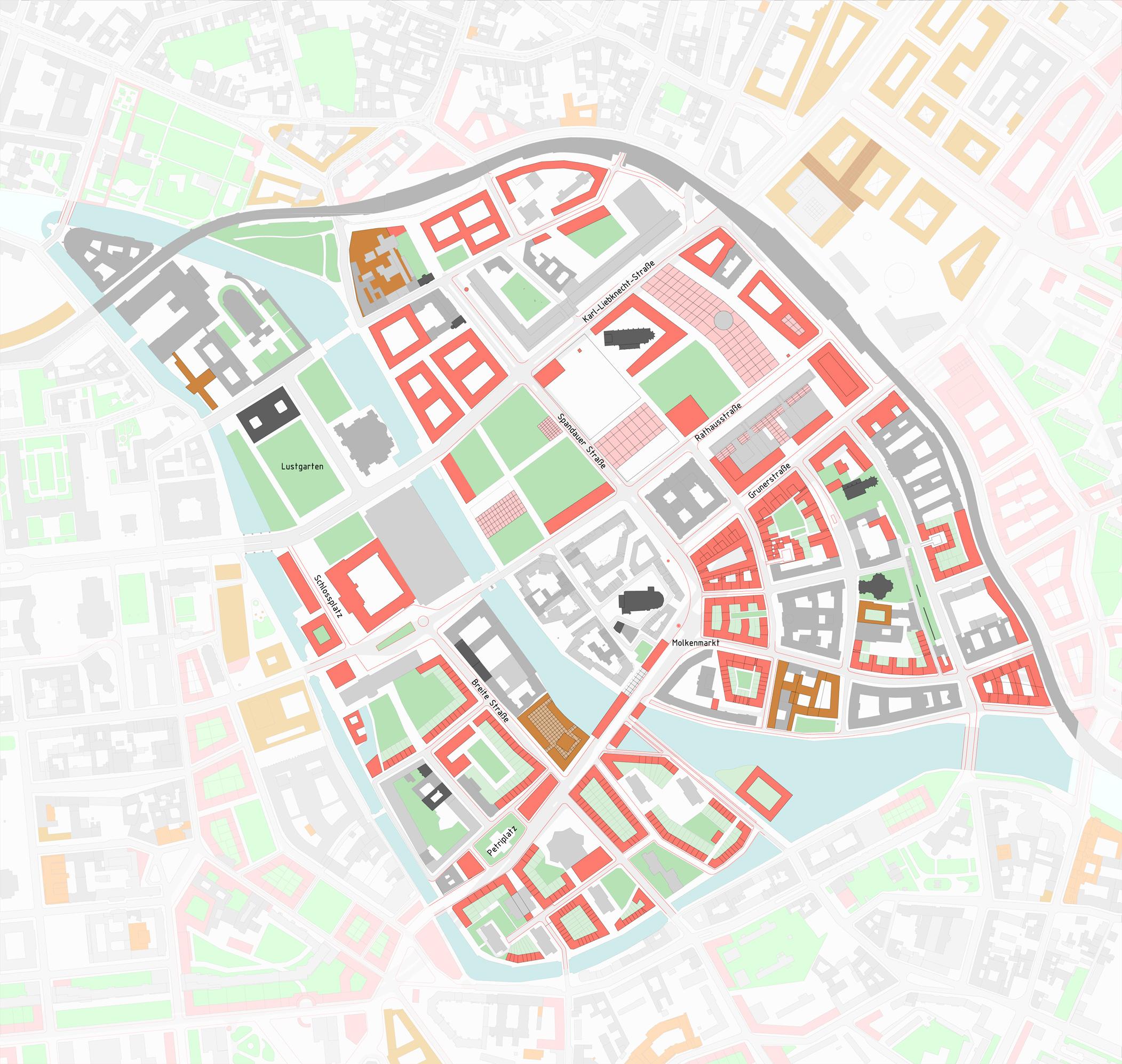 1996 - Masterplan Historische Innenstadt
